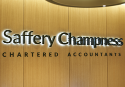 Reception at Saffery Champness