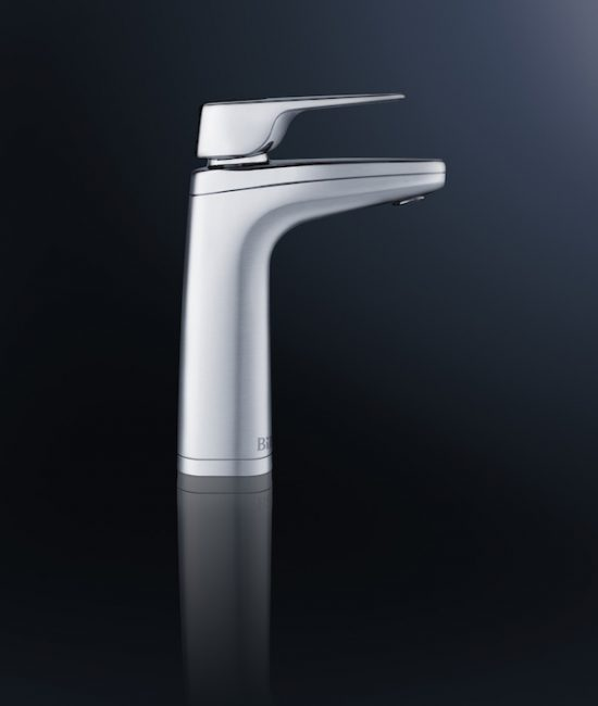 Quadra XL tap, brushed chrome