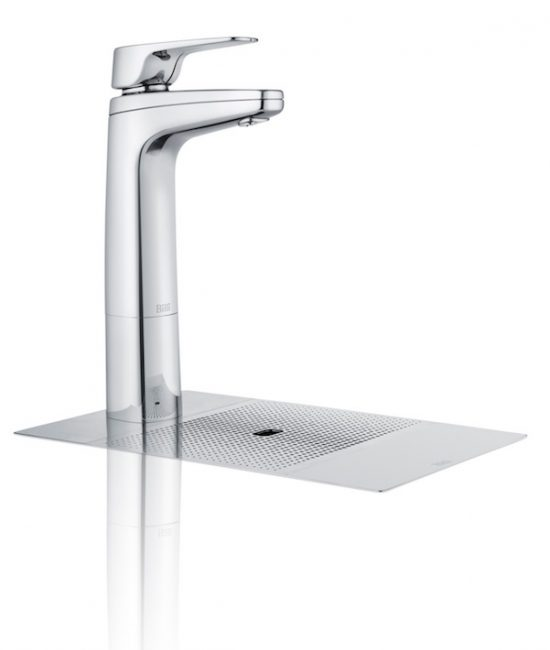 Billi Quadra Sparkling XL Tap, Chrome with Font