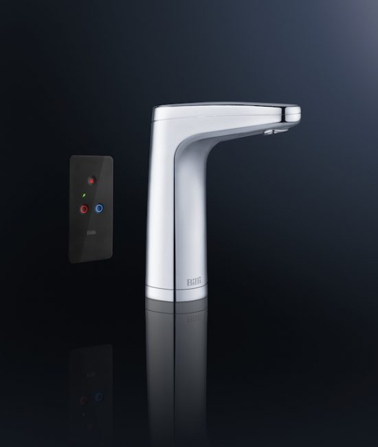 Quadra XR remote tap, chrome