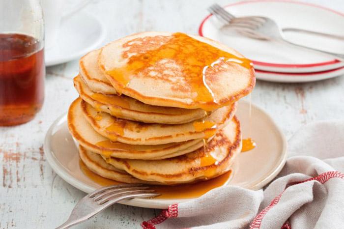 sparkling water pancakes