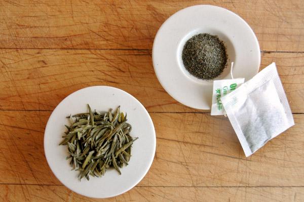 tea bags vs loose leaf