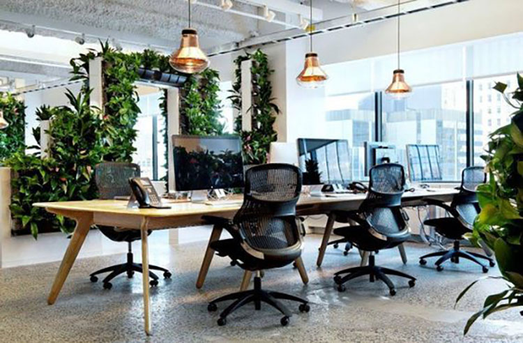 Trends for modern office design in the workplace for 2017 for Office design trends 2017