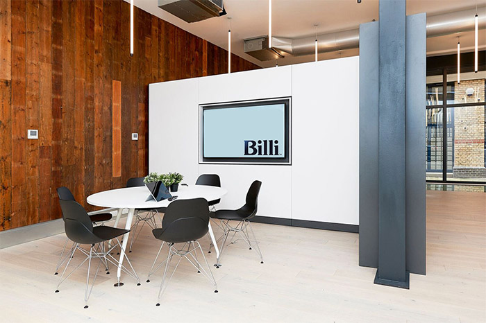 London showroom Billi UK