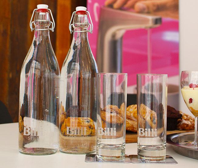 personalised glass bottles