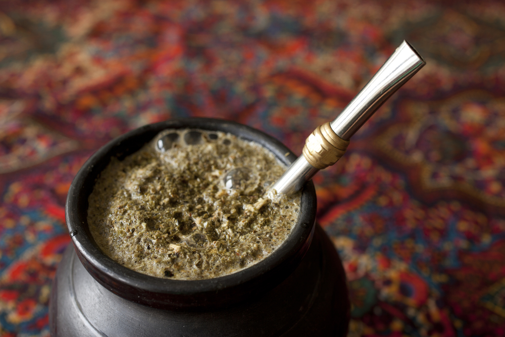 yerba mate beverage