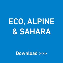 Eco, Alpine & Sahara