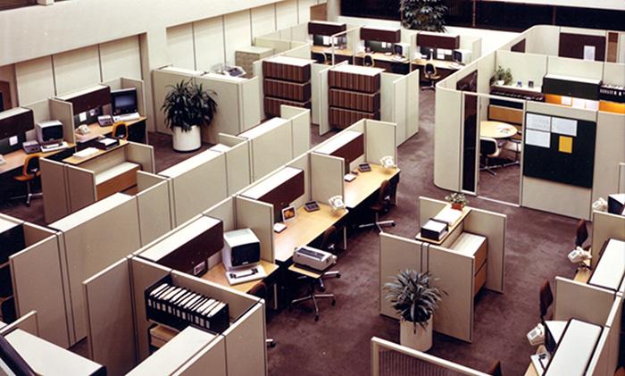 70's office