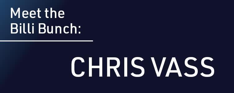 Meet the Team - Chris Vass (Billi Water Systems UK)